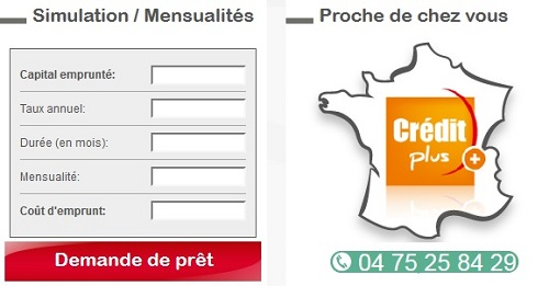 Credit plus immobilier valence