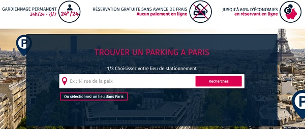 parking Odéon