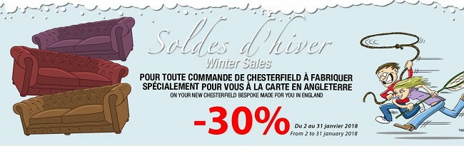 soldes mobilier anglais